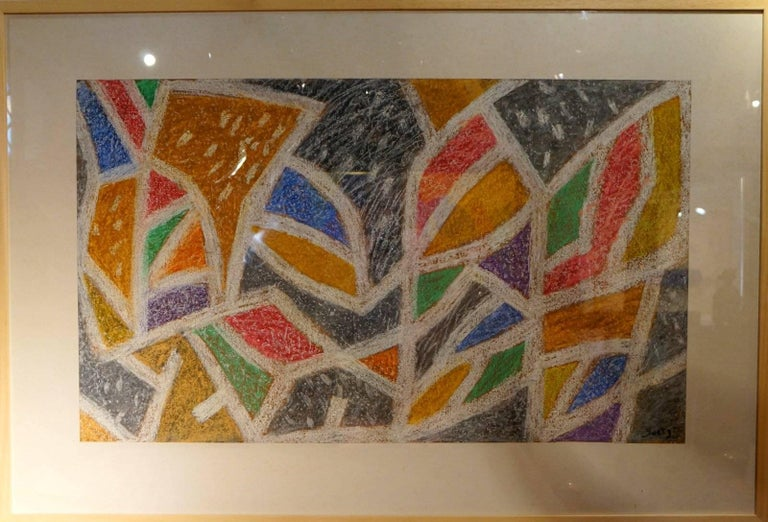 Abstract Composition HG - Art by Henri Goetz