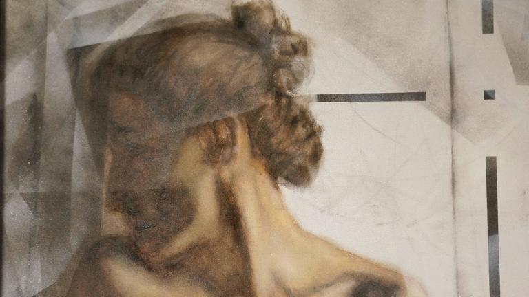 Femme d'un Soir - Modern Painting by Unknown