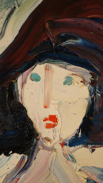 Women - Abstract Expressionist Painting by Damiano Bernard