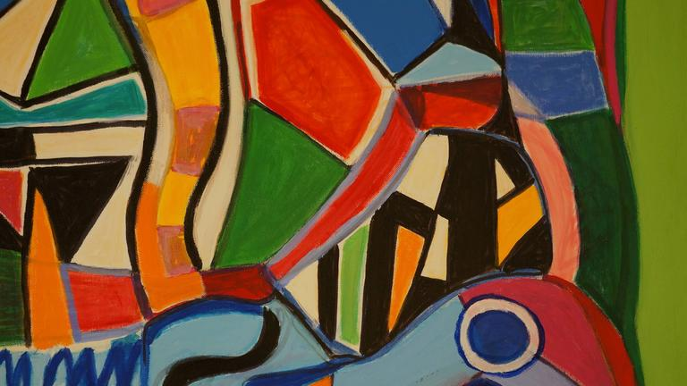 Abstract Composition SII For Sale 1