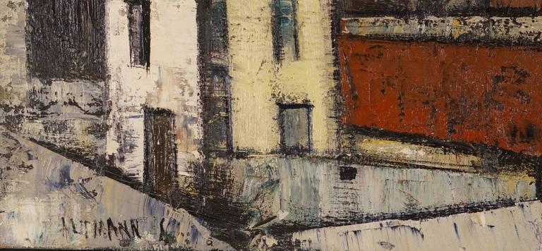 Small Town - Painting by Altmann Gérard