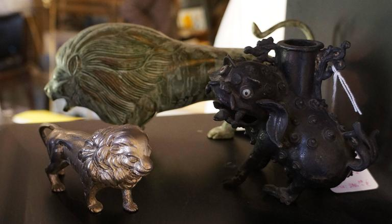 Collection of  Bronze Lions - Academic Sculpture by Unknown