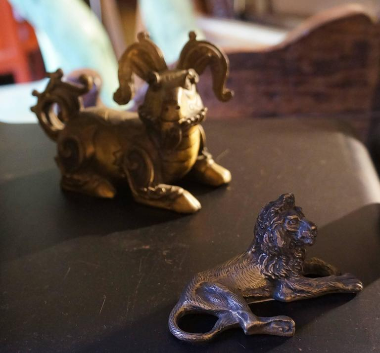 Collection of  Bronze Lions For Sale 1