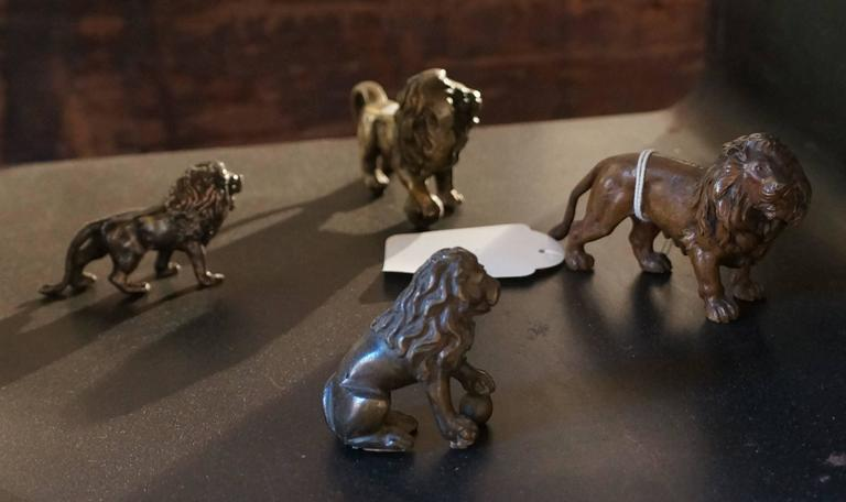 Collection of  Bronze Lions For Sale 2