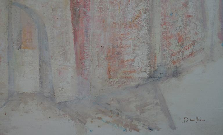 Abstract Composition D2 - Painting by Raymond Dauphin