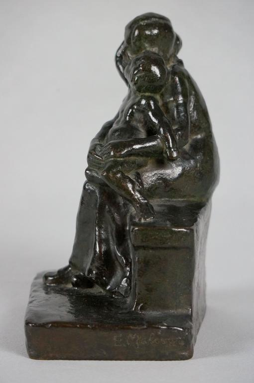 Baby2 - Sculpture by Maliver Emilie