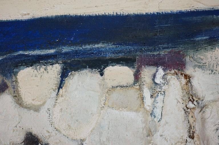 Abstract Composition CII - Gray Abstract Painting by Carlin Michel