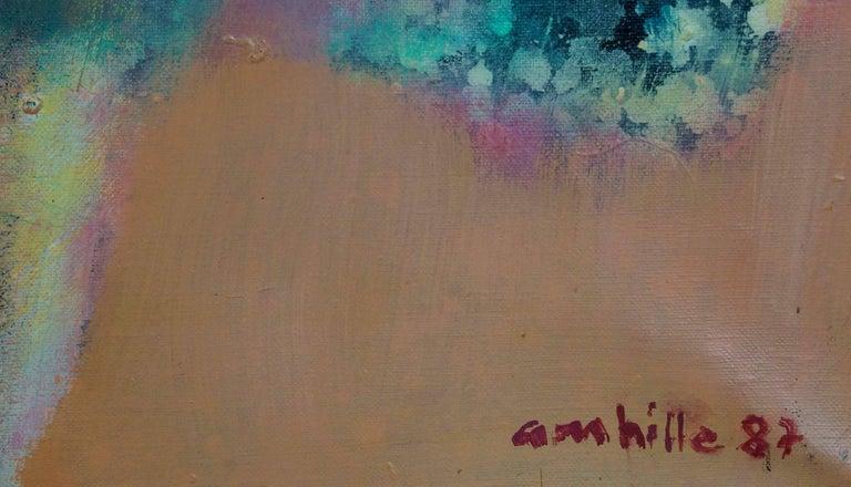 La Course - Painting by Paul Ambille