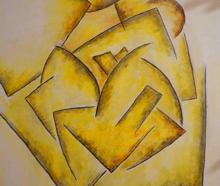 Abstract Composition GA5 - Painting by Georges Gaston Arnulf