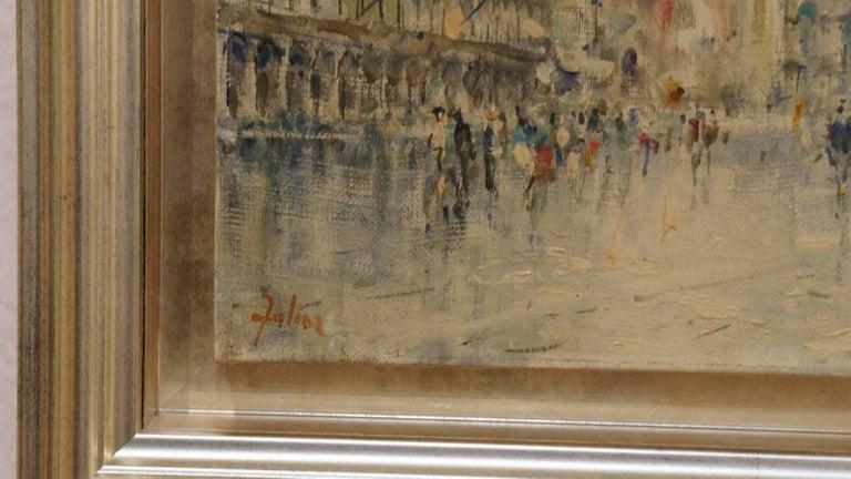 La Place Saint Marc - Painting by Unknown