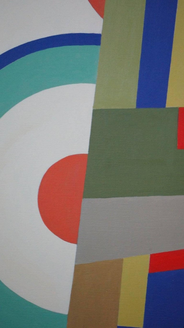 Abstract Geometric Composition SP15 For Sale 1