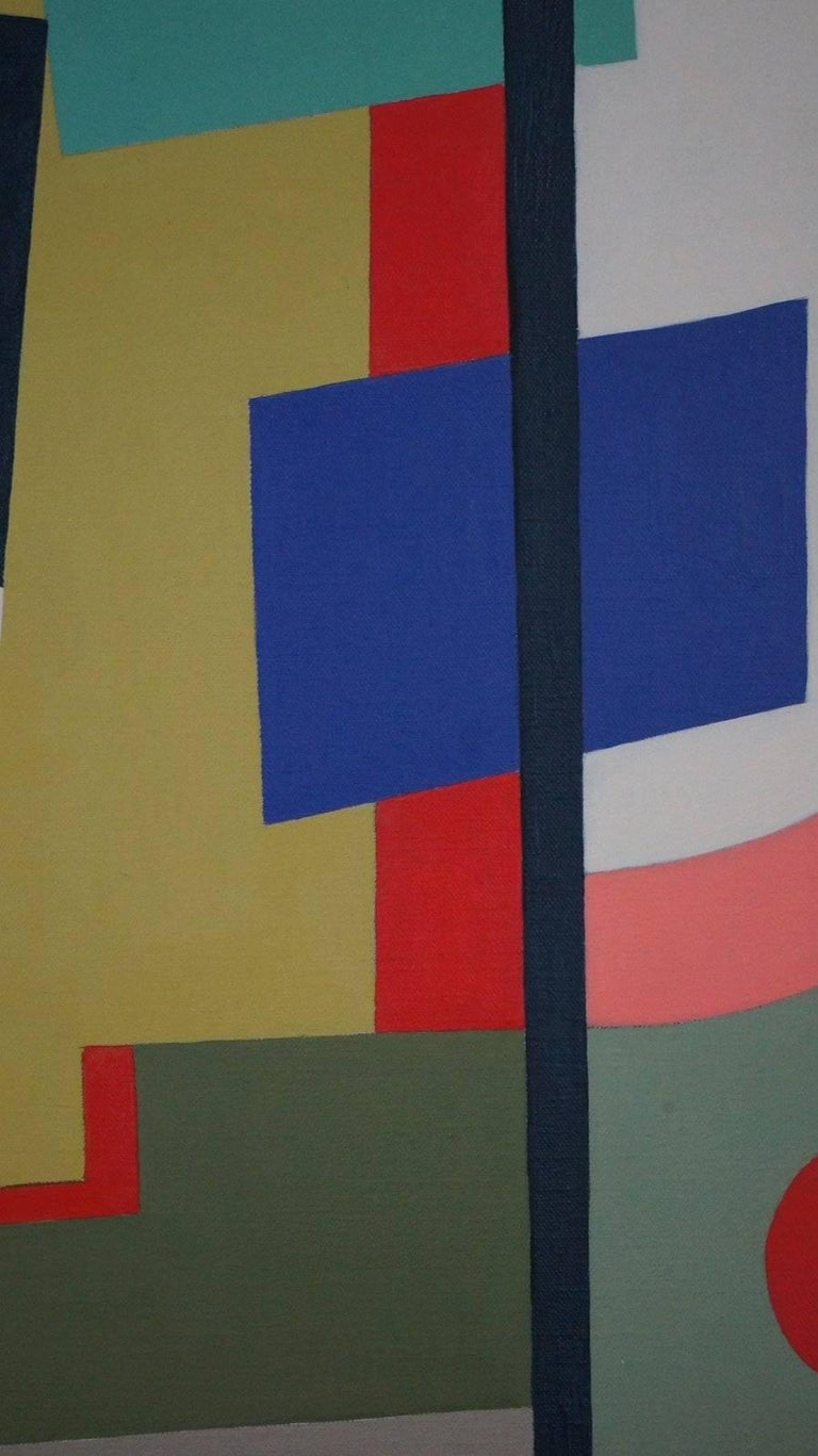 Abstract Geometric Composition SP15 For Sale 2