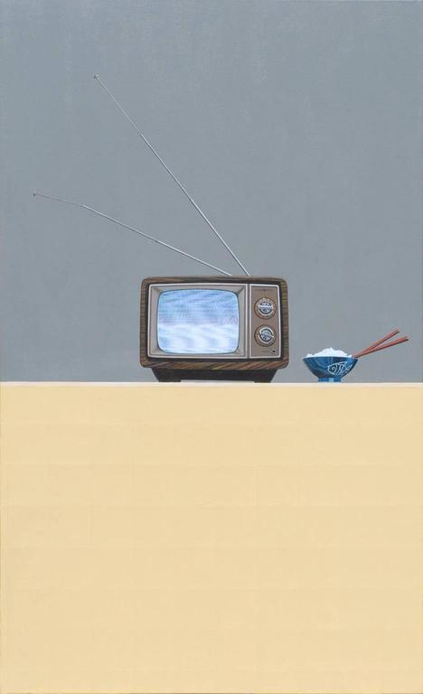Gordon Lee Interior Painting - Tv Dinner