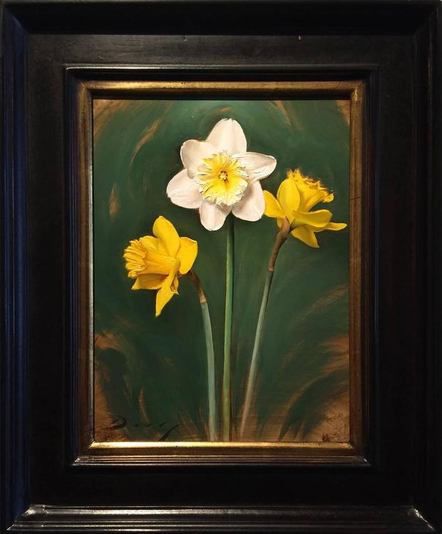 Daffodils - Painting by Joseph Q. Daily