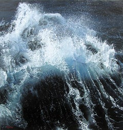 "Photorealist ""Waves on Drake Passage"""