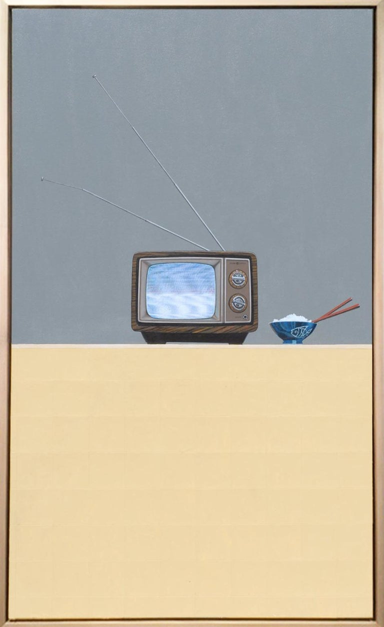 Tv Dinner - Painting by Gordon Lee