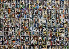 One Hundred Seventy-Six Tiny, Sketchy Portraits