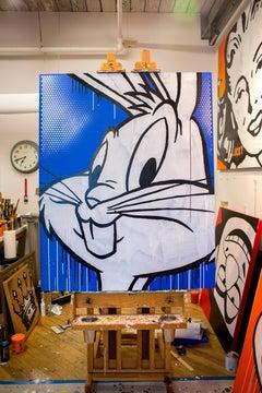 Pop Art Portrait of Bugs Bunny [Rabbit Season]