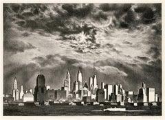 Storm Clouds Over Manhattan