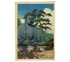 Kawase Hasui - Great Buddha at Kamakura