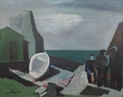 Fishermen and Smokehouse