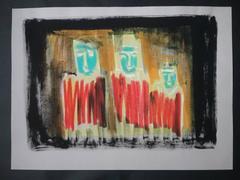 John Alvaro Caldas 1934-2006 - Untitled