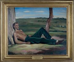"Siesta, Portrait of Robert ""Mad Boy"" Heber Percy"