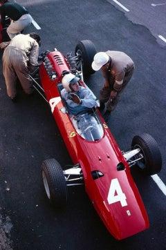 Bandini in the Ferrari