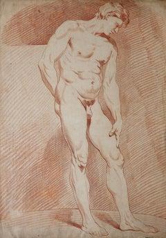 Academié d'homme Nu, Male Academy Nude