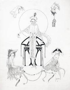 Art Deco Fashion Design