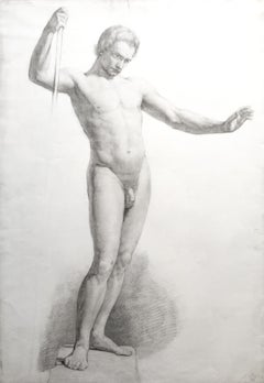 Standing Male Nude Study
