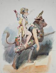 Les Parisiennes - Six Caricatures