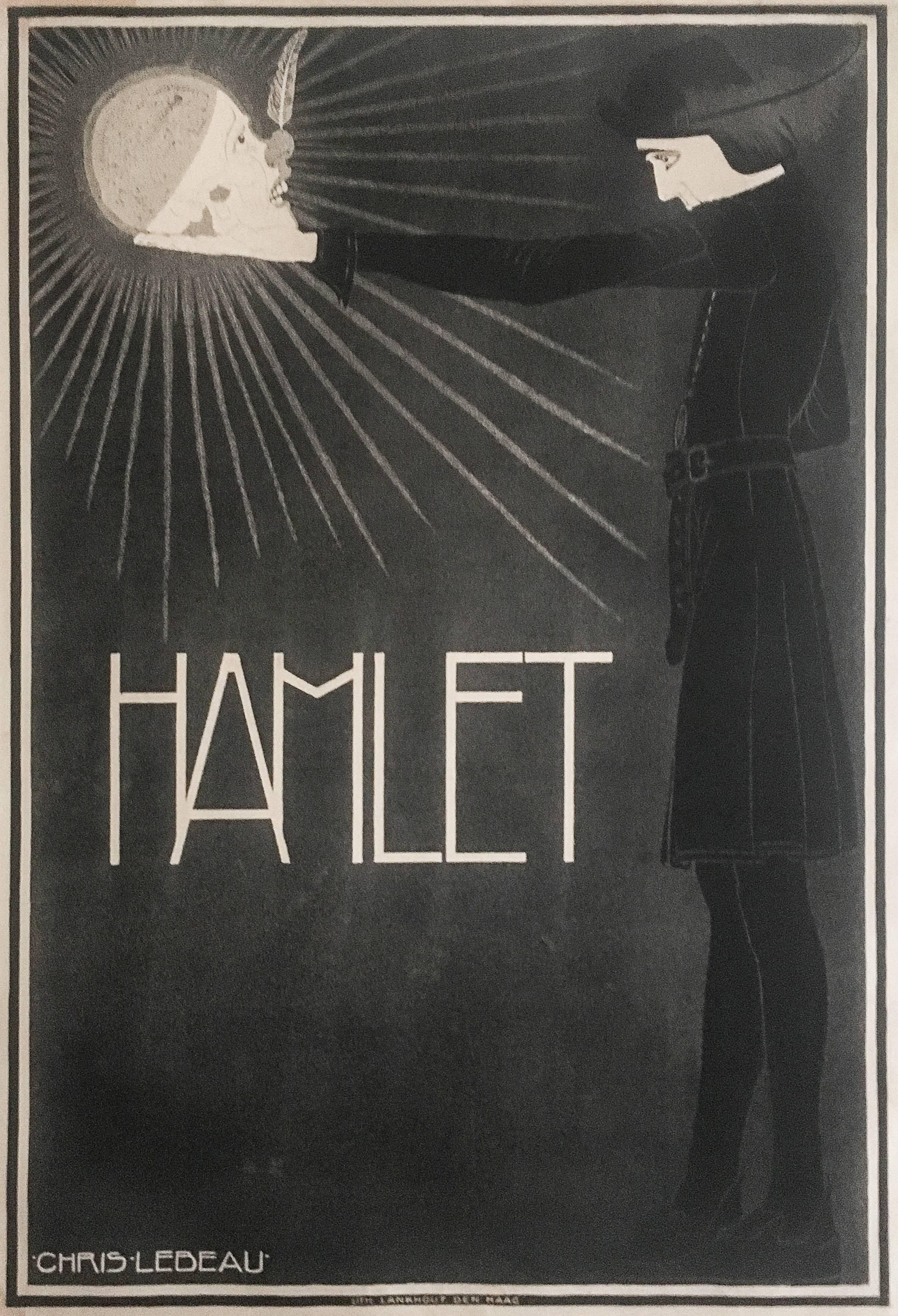 Chris Lebeau Portrait Print   Poster For Hamlet