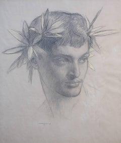 Head of Apollo for the Sorbonne Fresco