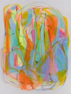 "Contemporary Painting ""The Gardens of Gratitude I"" by Gabriela Tolomei"