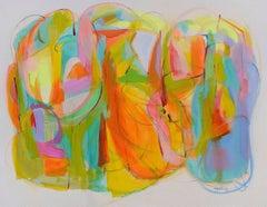 "Contemporary Painting "" Garden of Gratitude II"" by Gabriela Tolomei"