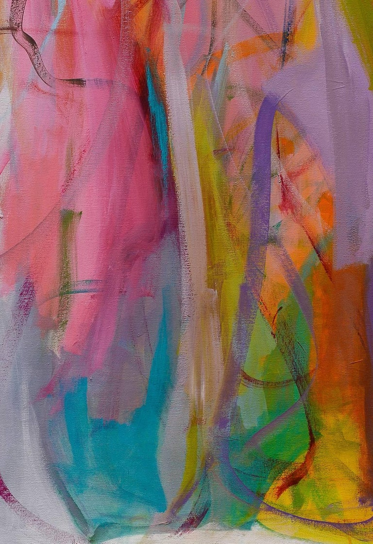 Contemporary painting, 'Luminous Dialogue', by Gabriela Tolomei For Sale 5