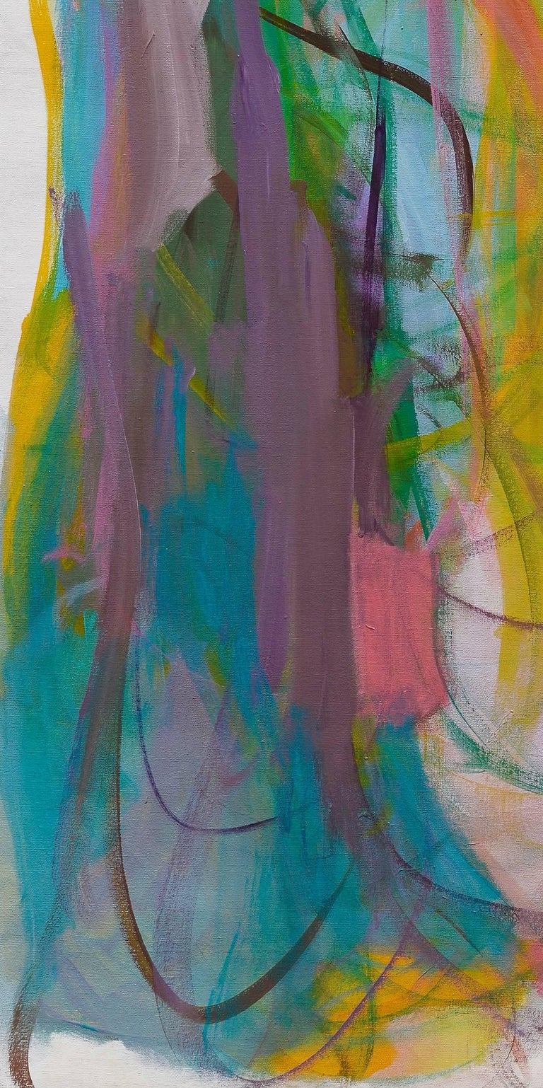 Contemporary painting, 'Luminous Dialogue', by Gabriela Tolomei For Sale 4