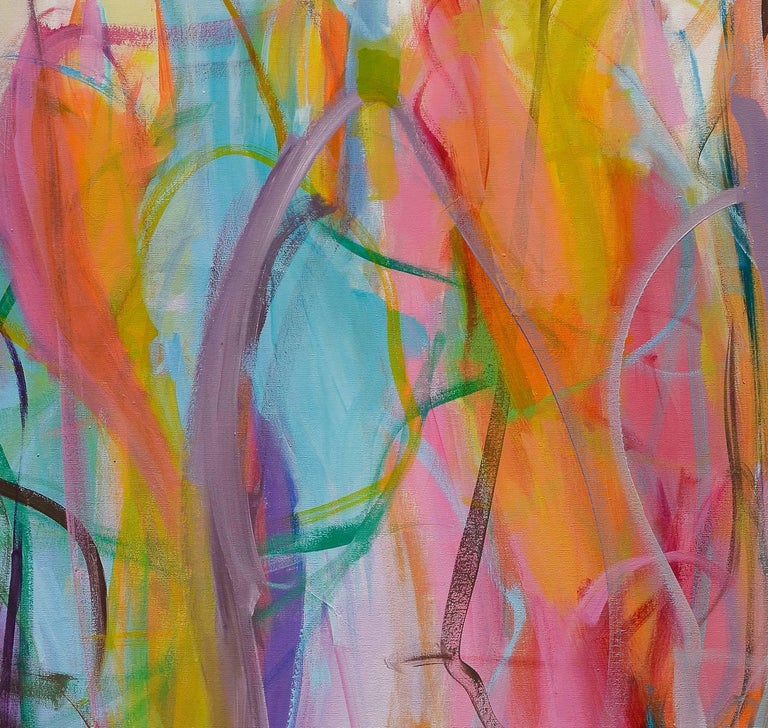 Contemporary painting, 'Luminous Dialogue', by Gabriela Tolomei For Sale 6