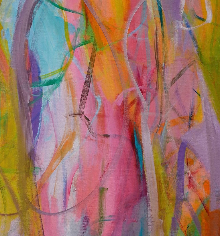 Contemporary painting, 'Luminous Dialogue', by Gabriela Tolomei For Sale 3