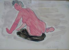 Nude Drawings and Watercolors