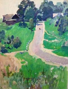 Landscape  Oil cm62 x 80  1982