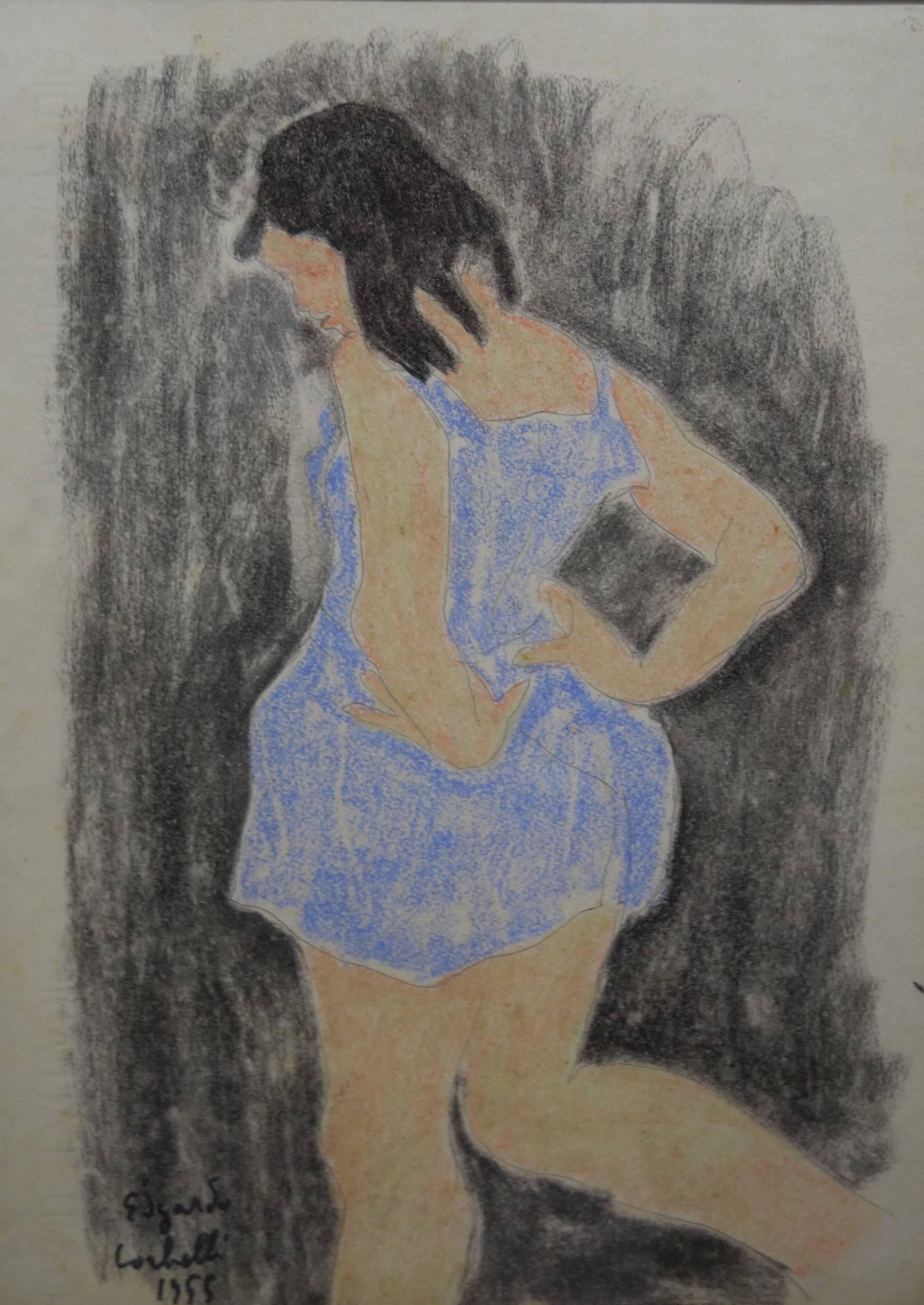Little dancer  Pastel cm. 24 x 33 1955