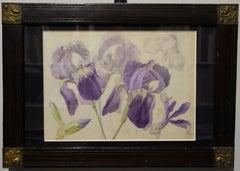 Art Deco Figurative Drawings and Watercolors