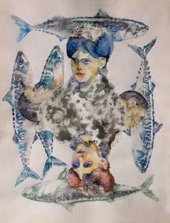 Quartet Ladies    watercolour  cm. 22 x 28    2018