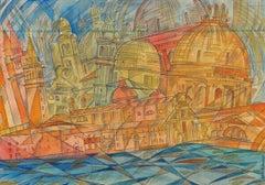 """""""Venice""""  cm. 22 x32  1930"""