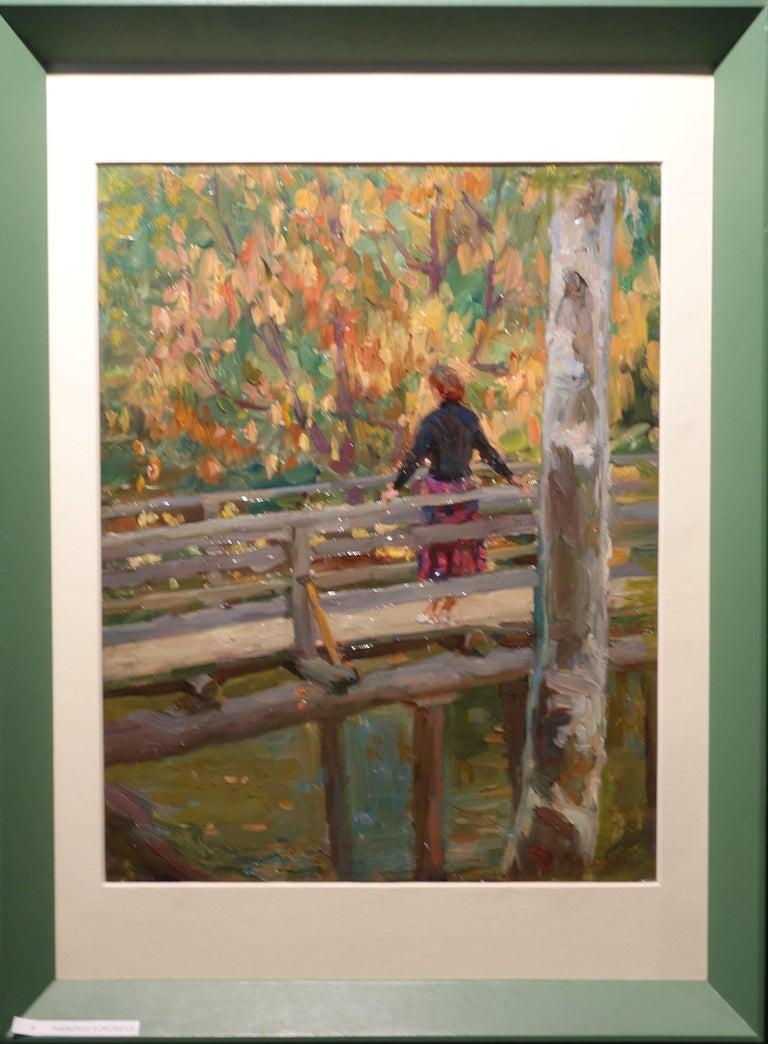 """""""Autumn """" cm. 33 x 42     1960 Oil"""