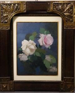 """Roses "" Oil   cm. 24 x 31  1915"