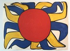 Alexander Calder - Untitled (Sun) from Our Unfinished Revolution Portfolio