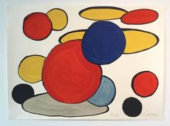 Alexander Calder - Untitled (Circles) from Our Unfinished Revolutions Portfolio